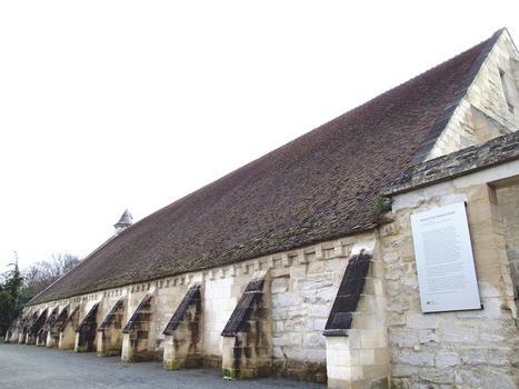 Saint-Ouen-l'Aumône - Abbaye Notre-Dame de Maubuisson - Grange aux dîmes
