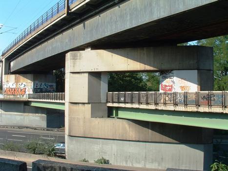 Eisenbahnbrücke Nogent in Champigny-sur-Marne