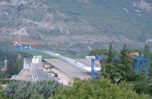 Zweite Rhonebrücke in Valence