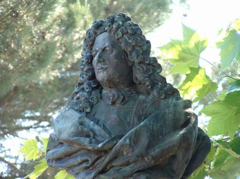 Statue of Sébastien Le Prestre de Vauban at Bazoches-du-Morvan