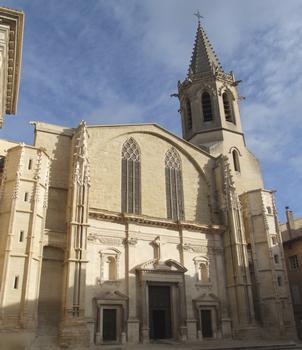 Carpentras - Cathédrale Saint-Siffrein - Façade