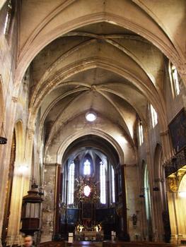 Carpentras - Cathédrale Saint-Siffrein - Nef