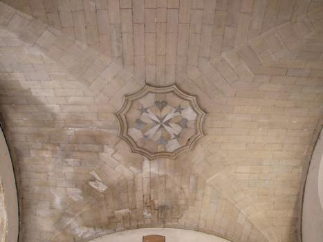 Carpentras - Hôtel-Dieu - Voûte de l'entrée