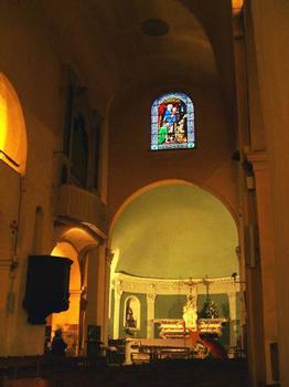 Ancienne Cathédrale de la Nativité-de-la-Vierge de VenceNef et abside