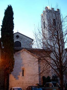 Ancienne Cathédrale de la Nativité-de-la-Vierge de Vence Chevet et tour