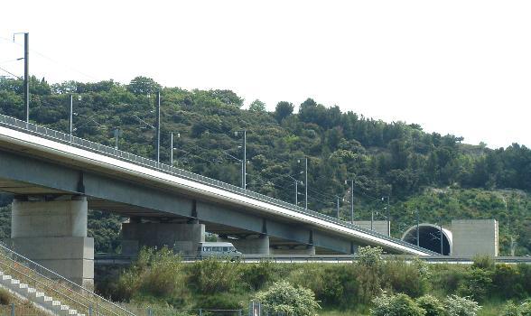 Viaduc et tunnel de Bonpas
