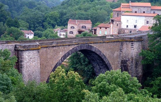 Allierbrücke Vieille-Brioude