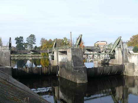 Barrage et usine hydroélectrique de Châtellerault