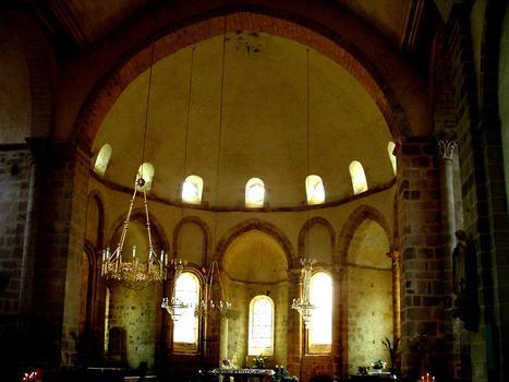Vigeois (Corrèze) - Ancienne abbatiale Saint-Pierre - Abside