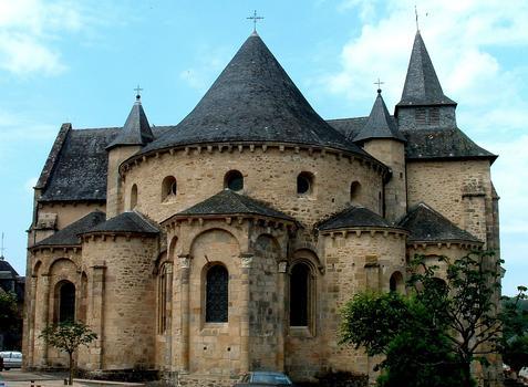 Vigeois (Corrèze) - Ancienne abbatiale Saint-Pierre - Chevet