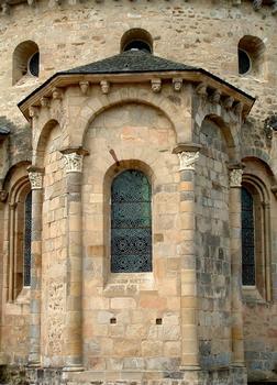 Vigeois (Corrèze) - Ancienne abbatiale Saint-Pierre - Absidiole