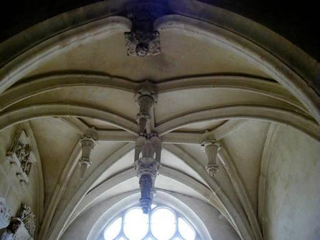 Eglise Saint-Etienne, Vignory. Voûte de la chapelle 1541