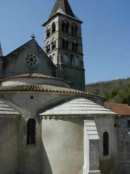 Eglise Saint-Etienne, Vignory. Chevet