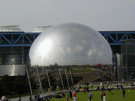 La Géode, Parc de la Villette, Paris