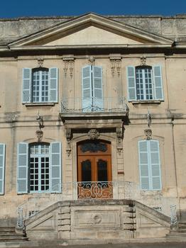 Viviers - Evêché (ancien hôtel de Roqueplane, ancien Hôtel de ville) - Entrée