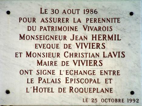 Bischofsresidenz in Viviers