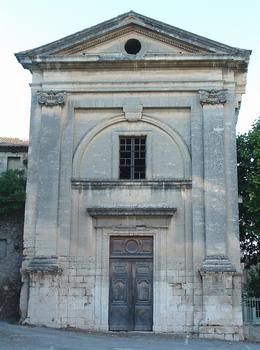 Viviers - Eglise Notre-Dame-du-Rhône - Façade