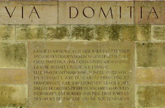Via Domitia in Narbonne