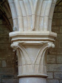Saint-Père - Eglise Notre-Dame - Nef - Chapiteau à crochets