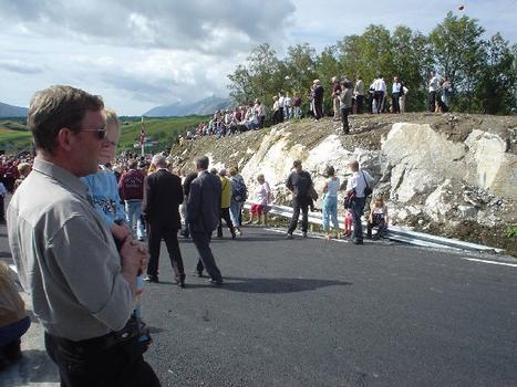 Sundoya Bridge.Opening Ceremonies