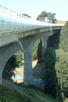 Viaduc du Saultbesnon (Autoroute A84)