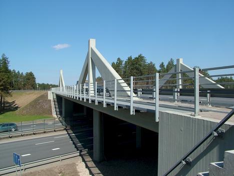 Überführung der A2 in Riga