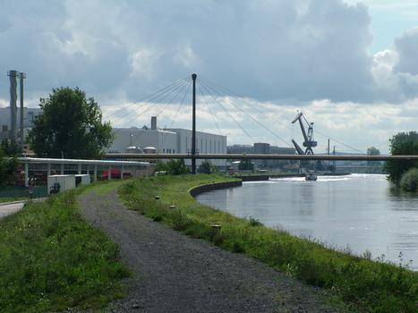 Neckarsulm Pipeline Bridge