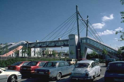 Hässleholm Station Footbridge