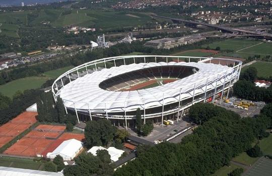 Gottlieb Daimler Stadium in Stuttgart