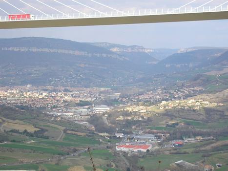 Le Viaduc: le toit de Millau