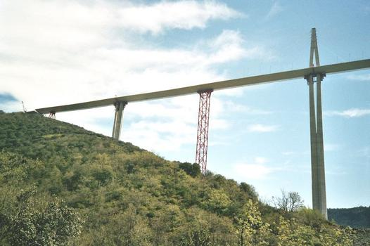 Viaduc de Millau Tablier Nord achevé