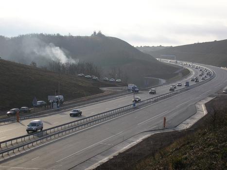 Viaduc de MillauOuverture à la circulation sens sud-nord