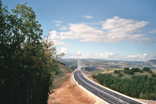 Viaduc de MillauVue depuis la culée sud