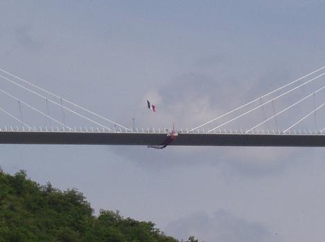 Viaduc de MillauClavage du tablier