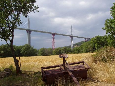 Millau-Viadukt.
