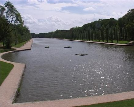 Grand canal du château de Sceaux