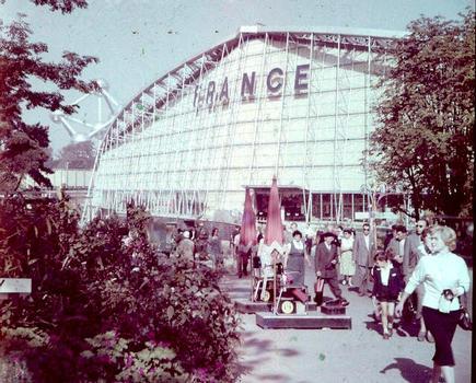 Le pavillon de la France à l'Exposition universelle de Bruxelles (1958)