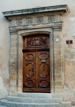 Le portail du prévôt, annexe du palais archiépiscopal d'Aix-en-Provence
