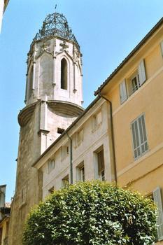 Le clocher des Augustins à Aix-en-Provence