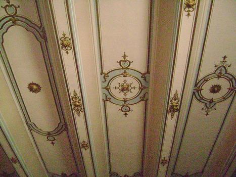 Le plafond de la salle des Etats de Provence, dans l'Hôtel de Ville d'Aix-en-Provence