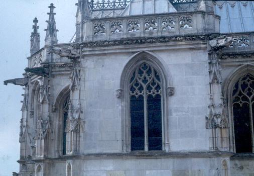 Détail de la chapelle (début 16e s.), de style gothique flamboyant, du château d'Amboise