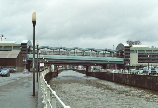 Anderlecht Metro Bridge
