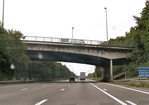 Kreuzungsbauwerk N80-E411 in Namur-Bouge