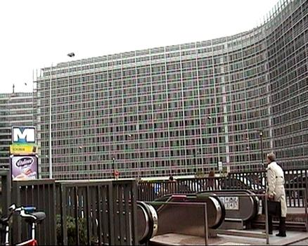 Berlaymont Building in Brussels houses the European Commission
