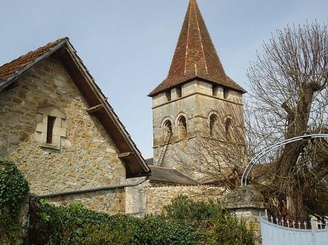 L'église abbatiale St-Pierre de Carennac (Lot)