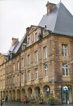 La Place Ducale à Charleville-Mézières (Ardennes)