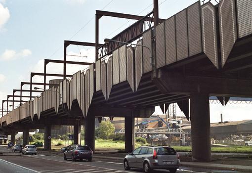 Monceau Metro Viaduct