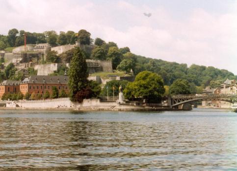 Citadelle & Pont de France, Namur