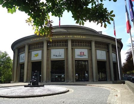 Le siège du Conseil économique et social (Paris 16e)