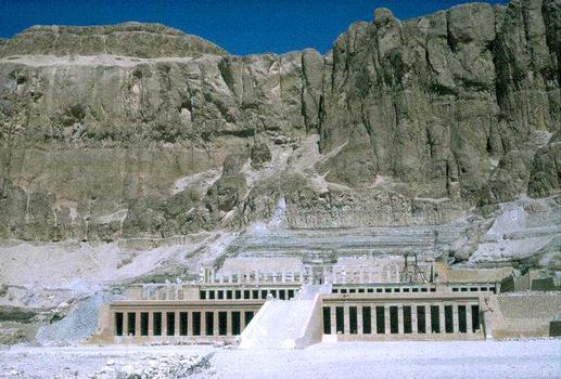 Funerary Temple of Hatshepsout, Deir el-Bahari, Egypt